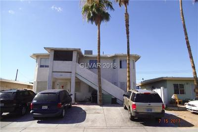 Las Vegas Multi Family Home For Sale: 1928 Sunrise Ave Avenue