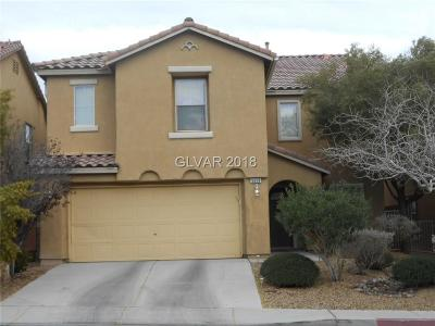North Las Vegas Single Family Home For Sale: 5628 Champagne Flower Street