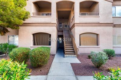 Las Vegas Condo/Townhouse For Sale: 5751 Hacienda Avenue #291