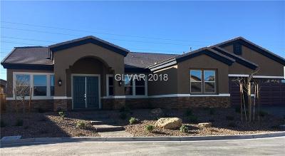 Las Vegas Single Family Home For Sale: 3361 Keller Springs Court #Lot 39