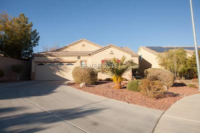 North Las Vegas Single Family Home For Sale: 912 Bob Barney Court