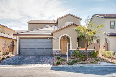 Las Vegas Single Family Home For Sale: 169 Elexese Court
