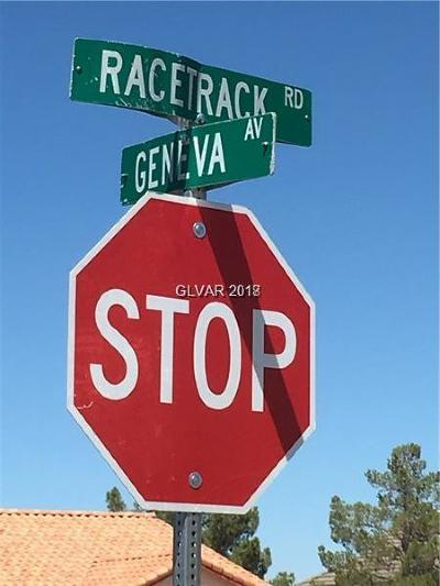 Las Vegas Residential Lots & Land For Sale: Racetrack