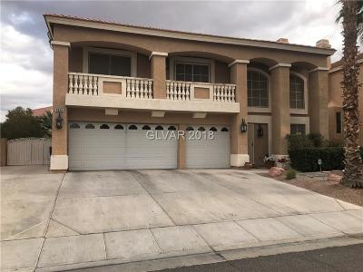 Las Vegas Single Family Home For Sale: 9620 Orchid Bay Drive