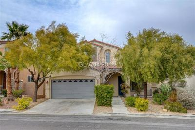Las Vegas Single Family Home For Sale: 11752 Del Sur Avenue