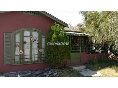 Las Vegas Single Family Home For Sale: 509 7th Street