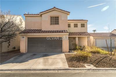 Las Vegas Single Family Home For Sale: 7208 Pinon Crest Court