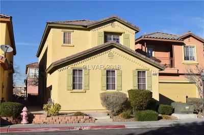 Las Vegas Single Family Home For Sale: 8155 Herring Avenue