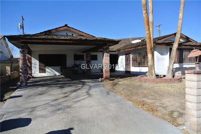 Las Vegas Single Family Home Contingent Offer: 817 Fairway Drive