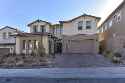 Las Vegas Single Family Home For Sale: 12039 Portamento Court