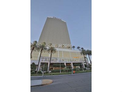 Trump Intl Hotel & Tower-, Trump Intl Hotel & Tower- Las High Rise For Sale: 2000 Fashion Show Drive #2309