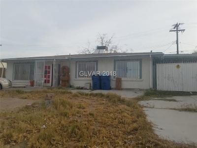 Las Vegas Single Family Home Contingent Offer: 4441 Cloverdale Avenue