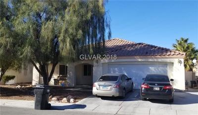 North Las Vegas Single Family Home For Sale: 5121 Rose Moss Street