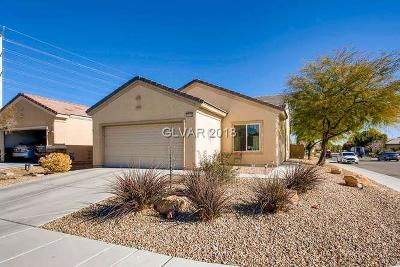 North Las Vegas Single Family Home Contingent Offer: 7942 Woodlark Court