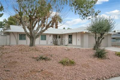 Las Vegas NV Single Family Home Contingent Offer: $219,900