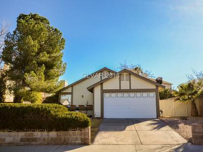 Henderson Single Family Home Contingent Offer: 318 Heather Drive