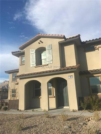 Las Vegas Condo/Townhouse For Sale: 192 Lomita Heights Drive