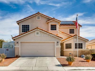 North Las Vegas Single Family Home Contingent Offer: 5244 Manor Stone Street