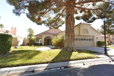 Las Vegas Single Family Home Contingent Offer: 7733 Tinted Mesa Court