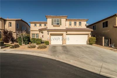 Las Vegas Single Family Home Contingent Offer: 9392 Thunder Basin Avenue