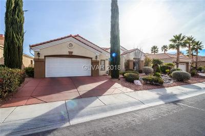 Las Vegas Single Family Home For Sale: 2124 Hot Oak Ridge Street