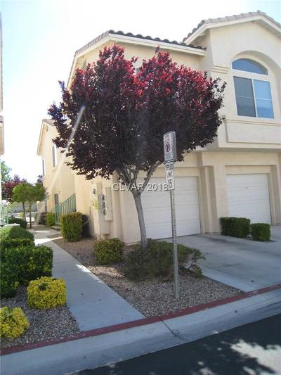 Las Vegas Condo/Townhouse Contingent Offer: 4930 Black Bear Road #101