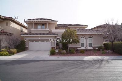 Las Vegas  Single Family Home For Sale: 2042 Country Cove Court