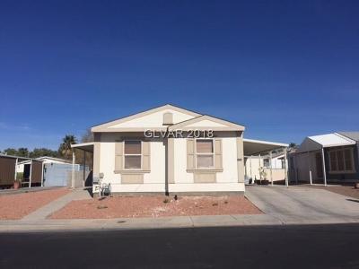 Las Vegas Manufactured Home Contingent Offer: 5930 Cardinal Rose Lane
