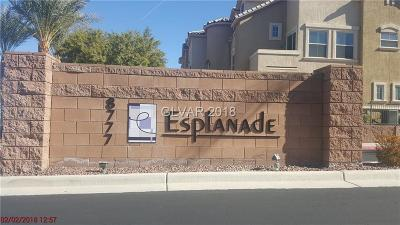 Las Vegas Condo/Townhouse For Sale: 8777 Maule Avenue #2103