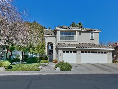 Henderson Single Family Home Contingent Offer: 195 Ultra Drive
