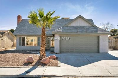 Las Vegas NV Single Family Home Contingent Offer: $274,900