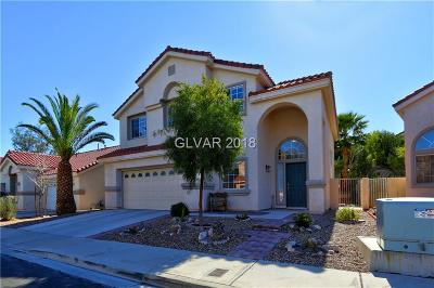 Henderson Single Family Home Contingent Offer: 43 Mesquite Village Circle