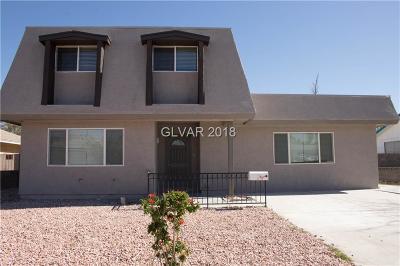 Las Vegas Single Family Home For Sale: 817 Palmhurst Drive