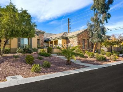 Las Vegas Single Family Home Under Contract - No Show: 5123 Crown Cypress Street