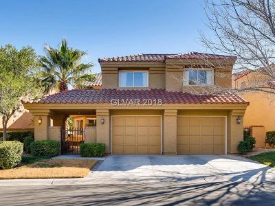 Las Vegas Single Family Home For Sale: 7731 Spanish Bay Drive