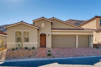 Las Vegas Single Family Home For Sale: 3899 Montone Avenue