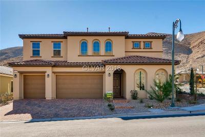 Las Vegas Single Family Home For Sale: 3913 Montone Avenue