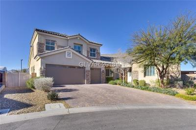 Las Vegas Single Family Home For Sale: 8685 Bright Angel Way