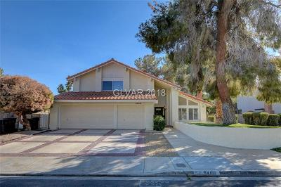 Henderson Single Family Home For Sale: 2406 Greens Avenue