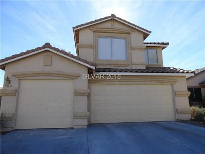 North Las Vegas Single Family Home For Sale: 209 Winley Chase Avenue