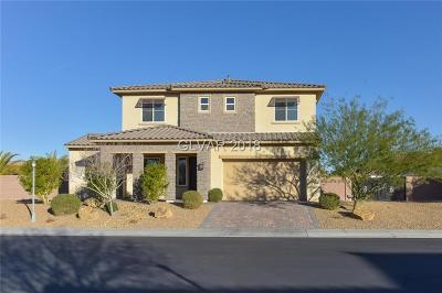 North Las Vegas Single Family Home For Sale: 4712 Overlook Ranch Street