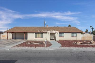 Las Vegas Single Family Home Contingent Offer: 4610 Philadelphia Avenue