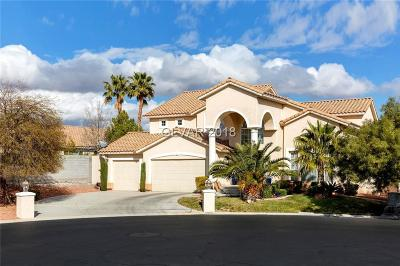 Las Vegas  Single Family Home For Sale: 9694 Irvine Bay Court