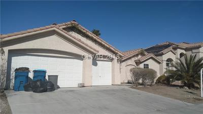 Las Vegas NV Single Family Home For Sale: $250,000