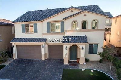 Las Vegas Single Family Home For Sale: 12226 Kings Eagle Street