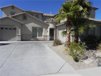 Las Vegas Single Family Home For Sale: 11331 Notte Calma Street