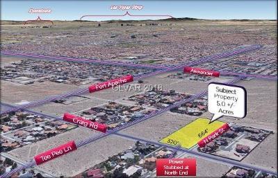 Las Vegas Residential Lots & Land For Sale: Craig Rd & Tee Pee Ln