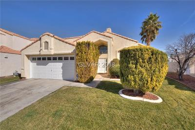 Las Vegas Single Family Home For Sale: 2620 Port Of Call Drive
