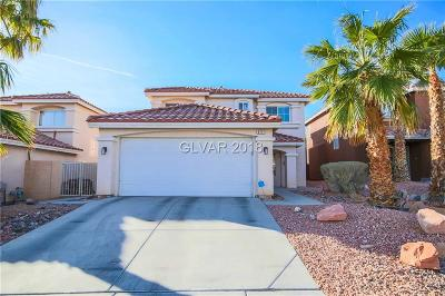 Las Vegas Single Family Home For Sale: 9711 Granite Gorge Court