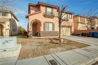 Las Vegas Single Family Home For Sale: 3106 Harbor Heights Drive